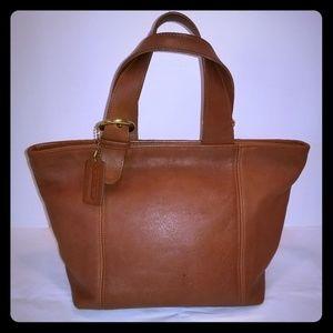 Classic Coach Leather Handbag